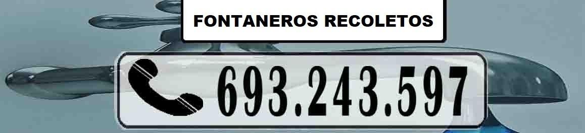 Fontaneros Recoletos Madrid Urgentes